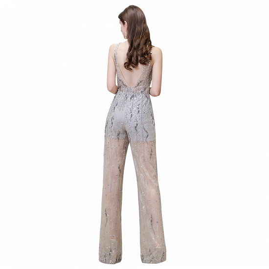 BMbridal Glamorous Jewel Sleeveless Tulle Evening Jumpsuit with Sequins_12