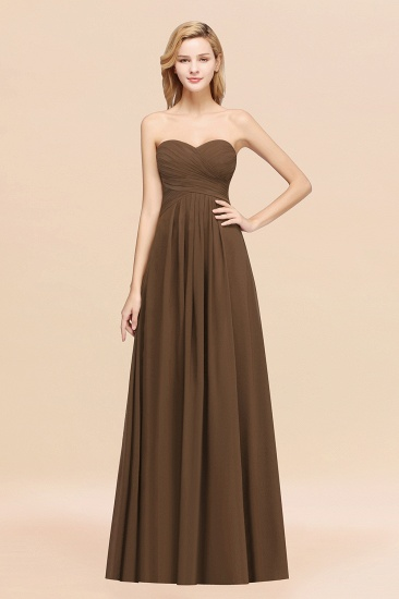 BMbridal Vintage Sweetheart Long Grape Affordable Bridesmaid Dresses Online_12