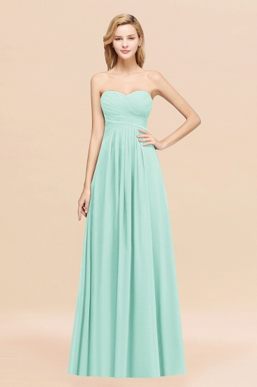 Vintage Sweetheart Long Grape Affordable Bridesmaid Dresses Online_36