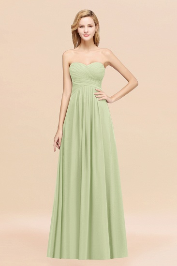 Vintage Sweetheart Long Grape Affordable Bridesmaid Dresses Online_35