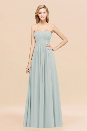 Vintage Sweetheart Long Grape Affordable Bridesmaid Dresses Online_38