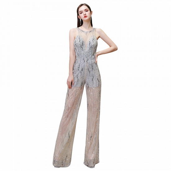 BMbridal Glamorous Jewel Sleeveless Tulle Evening Jumpsuit with Sequins_13