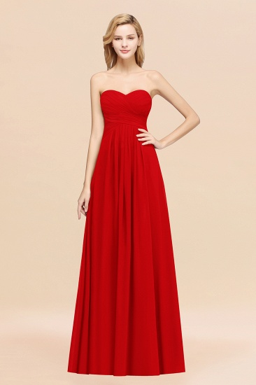 BMbridal Vintage Sweetheart Long Grape Affordable Bridesmaid Dresses Online_8