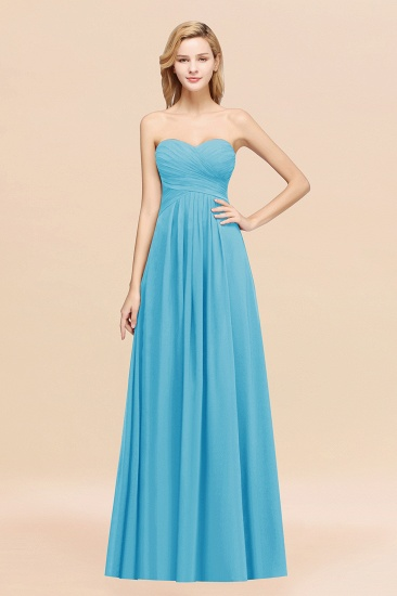 BMbridal Vintage Sweetheart Long Grape Affordable Bridesmaid Dresses Online_24