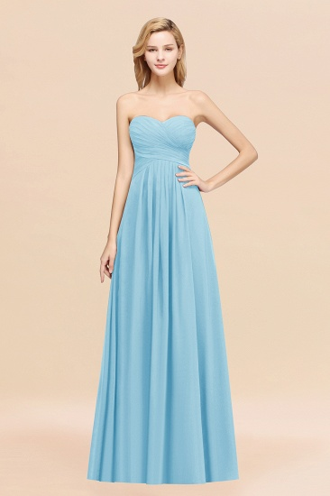 Vintage Sweetheart Long Grape Affordable Bridesmaid Dresses Online_23