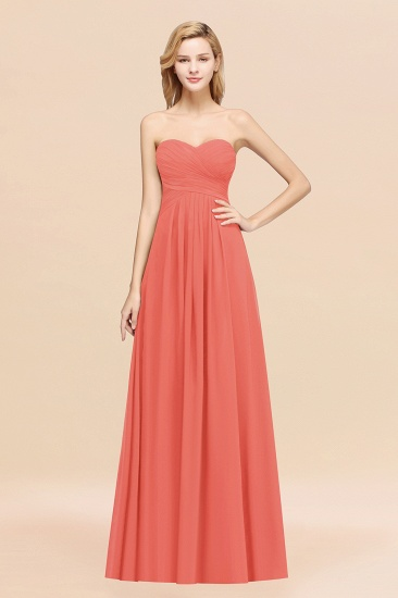 BMbridal Vintage Sweetheart Long Grape Affordable Bridesmaid Dresses Online_7