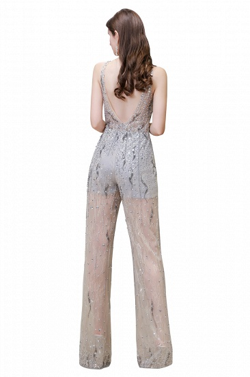 BMbridal Glamorous Jewel Sleeveless Tulle Evening Jumpsuit with Sequins_15