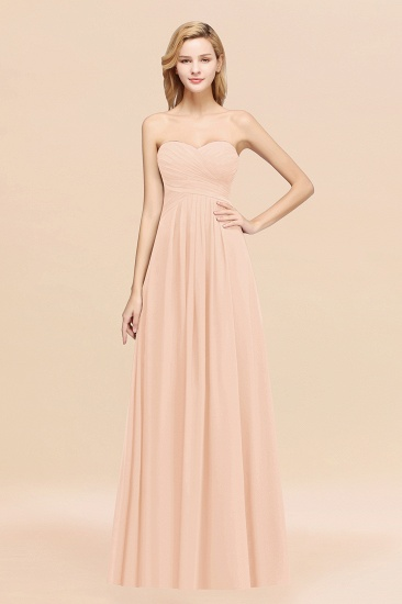 BMbridal Vintage Sweetheart Long Grape Affordable Bridesmaid Dresses Online_5
