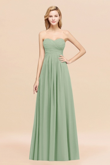Vintage Sweetheart Long Grape Affordable Bridesmaid Dresses Online_41