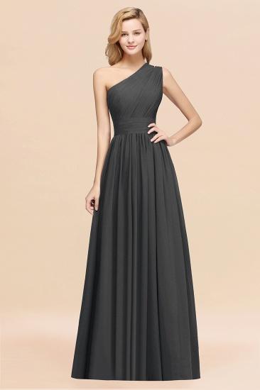 BMbridal Stylish One-shoulder Sleeveless Long Junior Bridesmaid Dresses Affordable_46