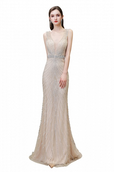 BMbridal Luxurious Beadings Mermaid Prom Dress Long Mermaid Evening Gowns On Sale_1