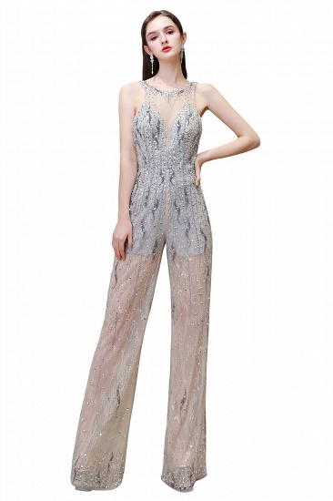 BMbridal Glamorous Jewel Sleeveless Tulle Evening Jumpsuit with Sequins_1
