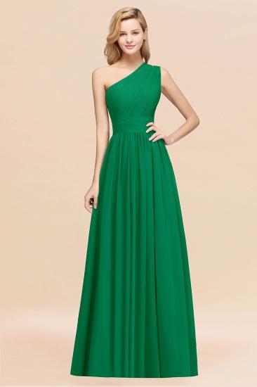 BMbridal Stylish One-shoulder Sleeveless Long Junior Bridesmaid Dresses Affordable_49