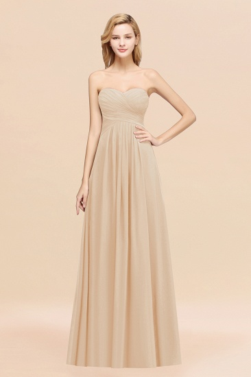 BMbridal Vintage Sweetheart Long Grape Affordable Bridesmaid Dresses Online_14