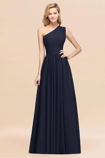 BMbridal Stylish One-shoulder Sleeveless Long Junior Bridesmaid Dresses Affordable_28