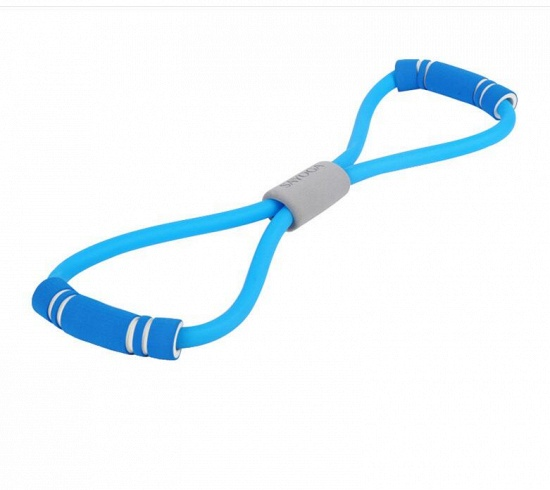 BMbridal 5 Pcs Indoor Fitness Portable Latex Figure 8 Tension Rope Figure Eight Puller Yoga_2