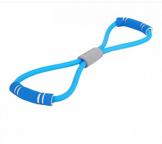 5 Pcs Indoor Fitness Portable Latex Figure 8 Tension Rope Figure Eight Puller Yoga_2