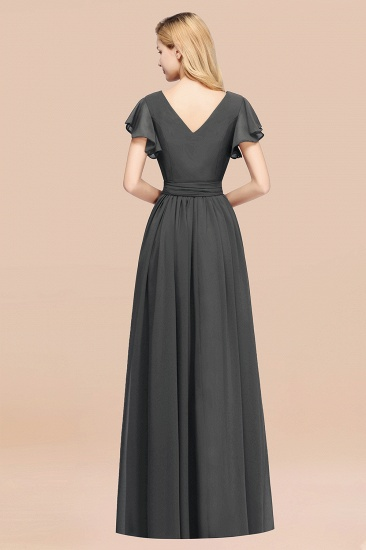 Try at Home Sample Bridesmaid Dress Burgundy Mulberry Steel Grey_5