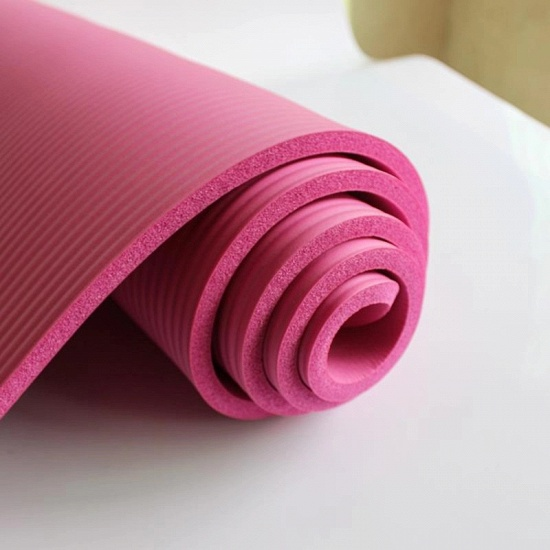 Yoga Mats Lose Weight Solid Color Anti-skid Gymnastic Sport Health High Quality_5