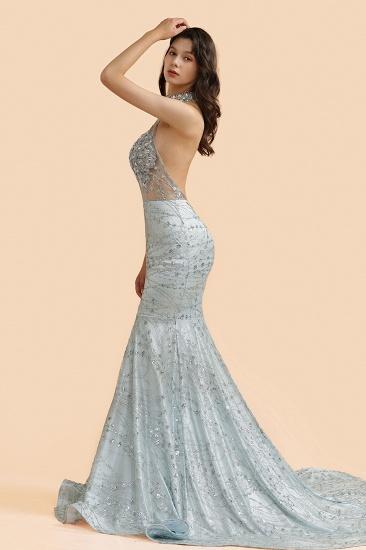 BMbridal Luxurious Halter Rhinestones Prom Dress Mermaid Long Online_6