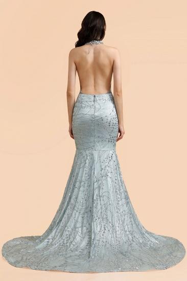 BMbridal Luxurious Halter Rhinestones Prom Dress Mermaid Long Online_4