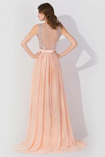 BMbridal A-line Chiffon Tulle Lace Ruffles Bridesmaid Dress_4