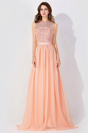 BMbridal A-line Chiffon Tulle Lace Ruffles Bridesmaid Dress