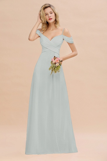 BMbridal Off-the-Shoulder Sweetheart Ruched Long Bridesmaid Dress Online_38