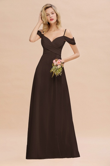 BMbridal Off-the-Shoulder Sweetheart Ruched Long Bridesmaid Dress Online_11