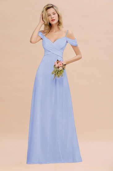BMbridal Off-the-Shoulder Sweetheart Ruched Long Bridesmaid Dress Online_22
