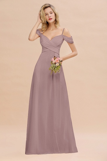 BMbridal Off-the-Shoulder Sweetheart Ruched Long Bridesmaid Dress Online_37
