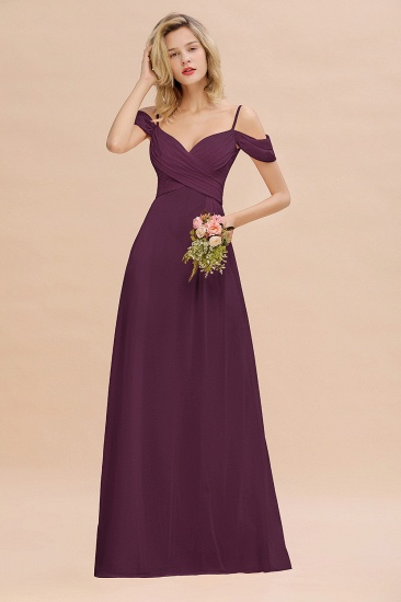 BMbridal Off-the-Shoulder Sweetheart Ruched Long Bridesmaid Dress Online_20