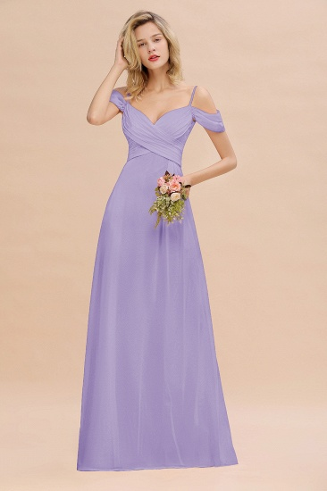 BMbridal Off-the-Shoulder Sweetheart Ruched Long Bridesmaid Dress Online_21