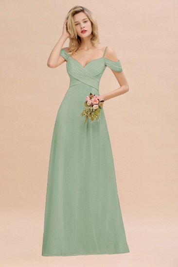 BMbridal Off-the-Shoulder Sweetheart Ruched Long Bridesmaid Dress Online_41