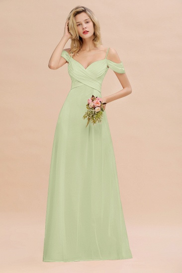 BMbridal Off-the-Shoulder Sweetheart Ruched Long Bridesmaid Dress Online_35