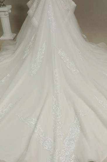 BMbridal Long Sleeves Lace Wedding Dress Luxury Online_6