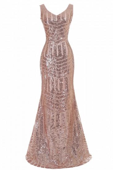 BMbridal Elegant Mermaid Prom Dress Beaded Backless Evening Dress_3