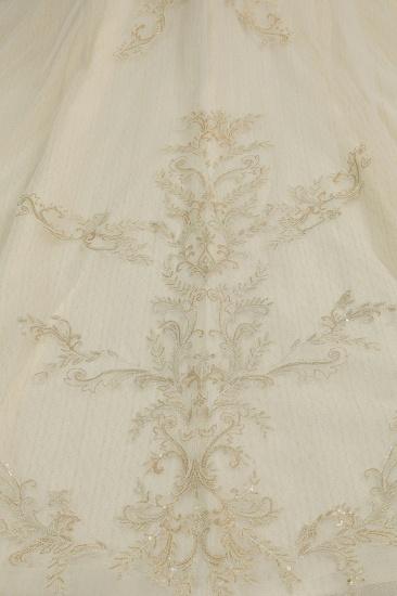 BMbridal Off-the-Shoulder Princess Wedding Dress With Lace Appliques_7