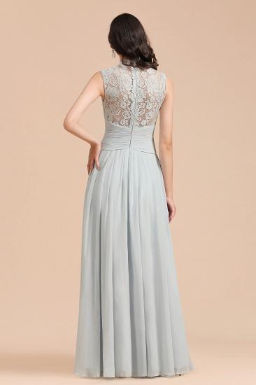 BMbridal Mist High-Neck Lace Bridesmaid Dress Long Online_3