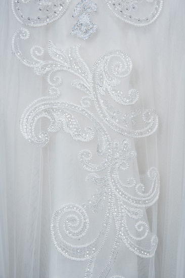 BMbridal Classic Long Sleeve Lace Bridal Gown Online_9