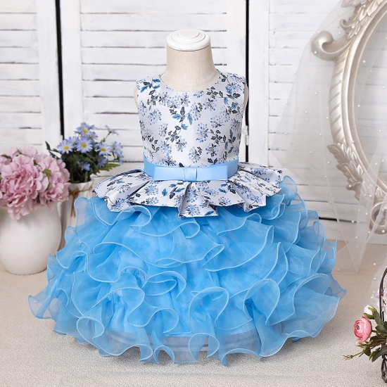 BMbridal Tulle Purple Lovely Flower Girl Dress_2