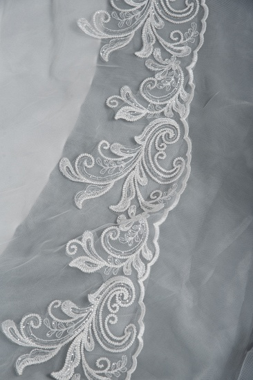 BMbridal Classic Long Sleeve Lace Bridal Gown Online_5