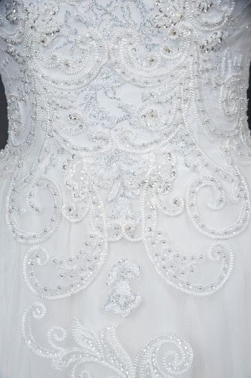 BMbridal Classic Long Sleeve Lace Bridal Gown Online_10