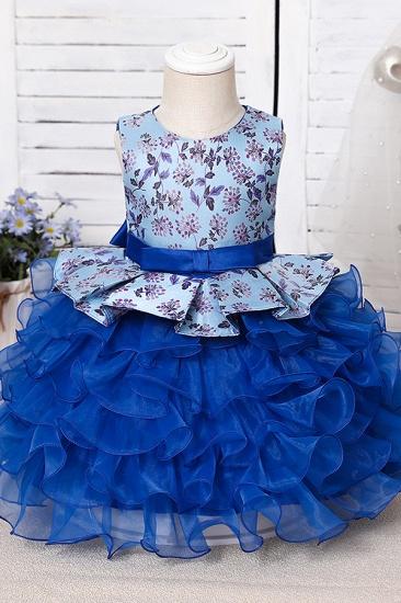 BMbridal Tulle Purple Lovely Flower Girl Dress_8
