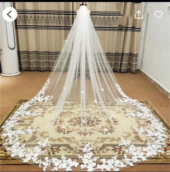 Special Link for Extra Fee OF WEDDING VEIL_2