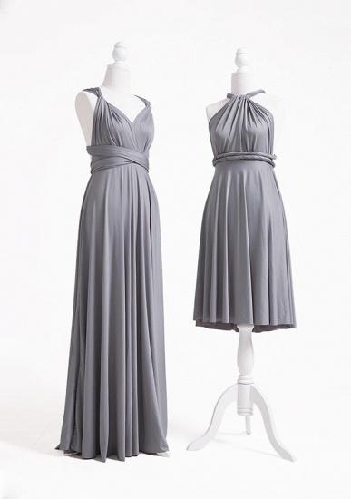 BMbridal Silver Multiple A-Line Bridesmaid Dresses_3
