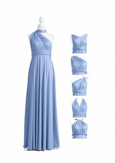 BMbridal Light Blue Multiway Ruffles Infinity A-Line Bridesmaid Dresses_4