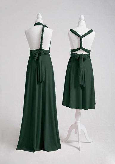 BMbridal Dark Green Multiway Infinity Bridesmaid Dress_4