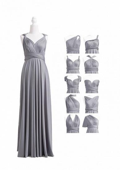 BMbridal Silver Multiple A-Line Bridesmaid Dresses_4