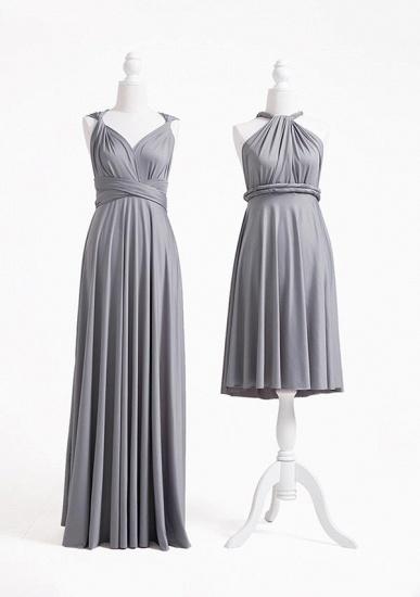 BMbridal Silver Multiple A-Line Bridesmaid Dresses_2